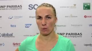 My Performance | Svetlana Kuznetsova Defeats Karolina Pliskova | 2016 WTA Finals