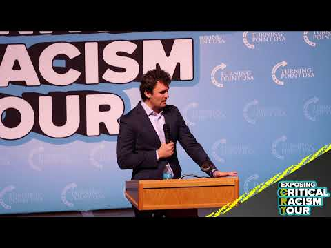 Charlie Kirk is LIVE at the Boise State University EXPOSING the radical indoctrination of CRT!