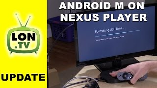 Google Nexus Player Gets More Useful with Android M ! - Live Channels, HDHomerun, External Storage