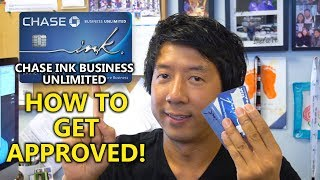 CHASE INK BUSINESS UNLIMITED HOW TO GET APPROVED | 50,000 SIGNUP BONUS POINTS