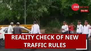 Watch: Reality check of new traffic rules; Here's a ground report