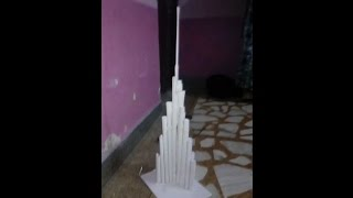 how to make a burjkhalifa