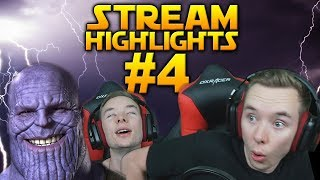 WHEN THOR & THANOS JOINS: Battlefront 2 Stream Highlights #4