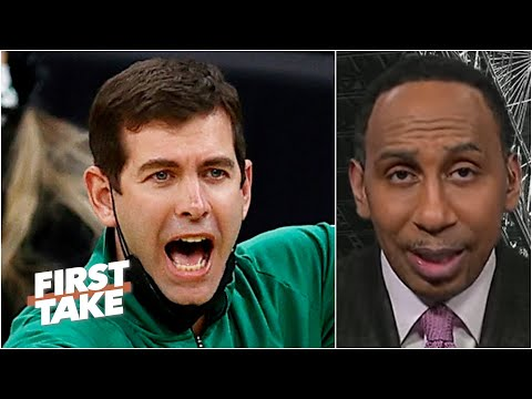Brad Stevens is in trouble - Stephen A. thinks the Celtics head coach is on the hot seat |First Take