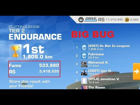 1001 Laps On RR3 Endurance Mio. R$