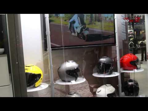 SHOEI J-Cruise Jethelm News 2013 - Intermot 2012