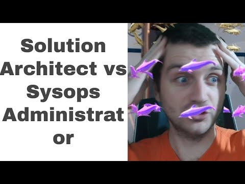 Solutions Architect Associate vs Sysops Administrator | Which should you take first?