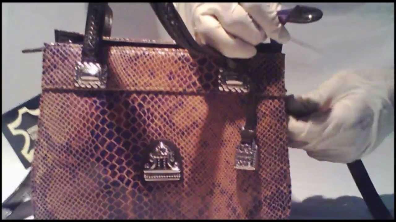 093b085dcb GlobalFashionKing.com - MC Marc Chantal Cognac Patent Leather Purse ...