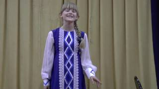 Черенкова Анастасия  За горою у колодца  ДШИ №1 г Шумерля