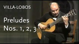 Preludes Nos 1 2 And 3 Villa Lobos Julian Bream