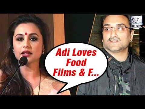 Rani Mukerji Reveals Dirty Secrets Of Husband Aditya Chopra | LehrenTV