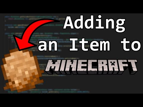 Minecraft, But I Show You How To Code A Modded Item!