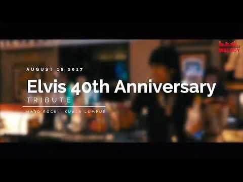 Elvis Tribute Concert Montage at Hard Rock Cafe Kuala Lumpur
