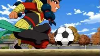 Inazuma Eleven Go Chrono Stone Nishiki Libère Le Keshin De Zanark thumbnail