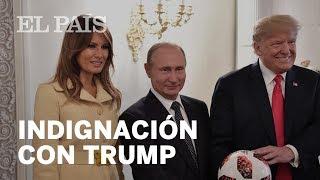 TRAMA RUSA: Las palabras de TRUMP ante PUTIN que indignan a EE UU