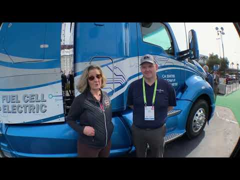 Toyota and Kenworth Develop Zero Emission fuel-cell Trucks Consumer Electronics Show CES2019