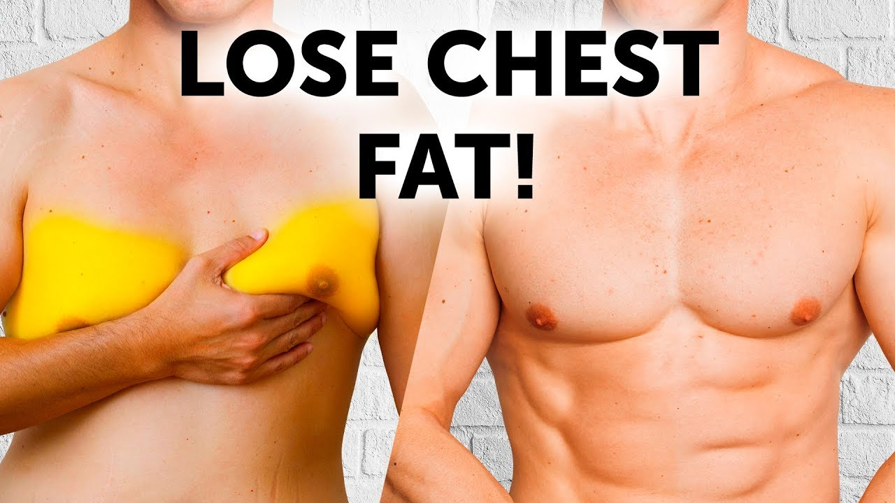 How to lose chest fat for men naturally [12 easy tips]
