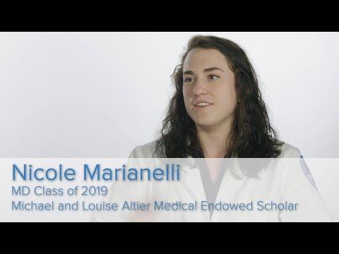 Geisinger Commonwealth School of Medicine - Student Moments - Nicole Marianelli
