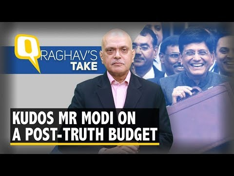 PM Modi, Congratulations on India's First Post-Truth Budget | The Quint
