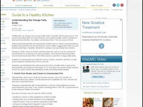 Lipids 4:  Omega Fatty Acids