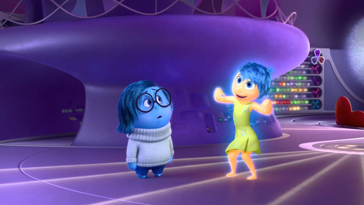 Disney pixar inside out gioia e tristezza clip dal