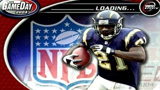 NFL GAMEDAY 2004 retro game of the day