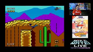 Road Runner / Ghostbusters / R-Type (Sega Master System) Mike Matei Live