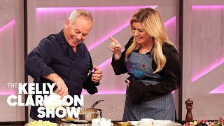 Making Oscar-Worthy Macaroni And Cheese With Wolfgang Puck