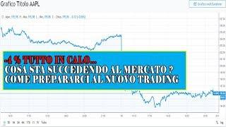SCENDONO TUTTI MA PERCHE ? - Leggere Indice Investing Strategie di Trading Opzioni Binarie e Forex