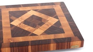 """square In A Square"" End Grain Cutting Board"
