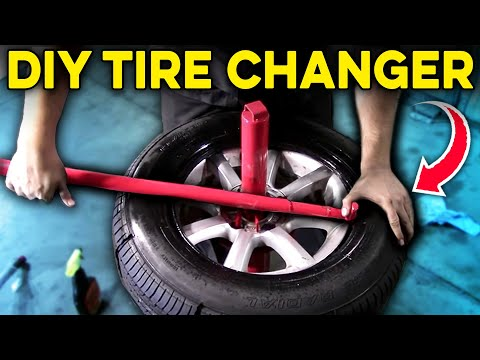 How to Use a Manual Tire Changer - Harbor Freight