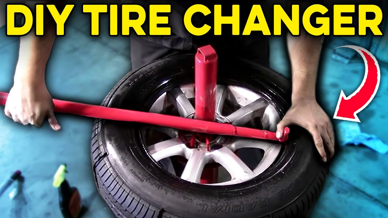 How To Use A Manual Tire Changer Harbor Freight Youtube