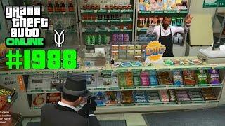 GTA 5 ONLINE #1988 Schießerei beim Thekenmann Let`s Play GTA V Online PS4 YU91