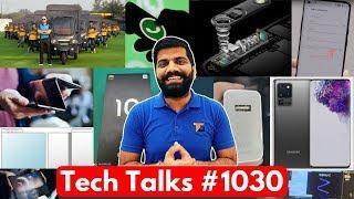 Tech Talks #1030 - 256MP Camera, Whatsapp Aadhaar Link, Android R Leaks, Galaxy Z, Mi 10 Pro
