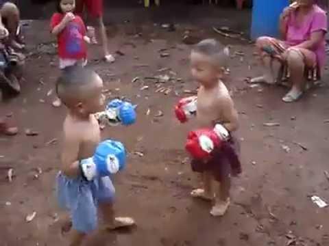 Tinju Anak-anak Lucu Abis - YouTube
