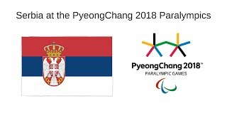 Serbia at the PyeongChang 2018 Winter Paralympics