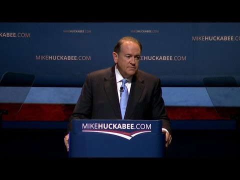 Mike Huckabee launches second presidential bid