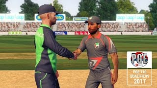 """""""GAMING SERIES"""" IRELAND V UAE PGE T10 QUALIFIERS 2017 GROUP A MATCH 2"""