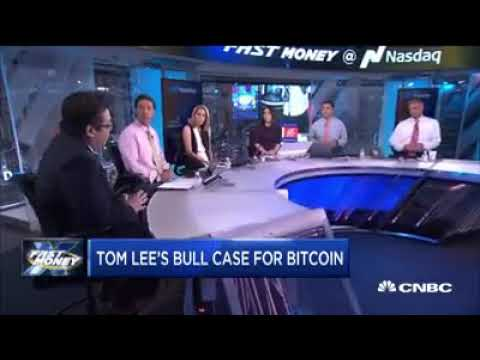 Backup video from CNBC: Bitcoin Heading To 25K in 5 years  CNBC Fast Money   Tom Lee