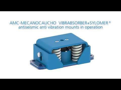 Antiseismic Anti Vibration Mounts In Operation.