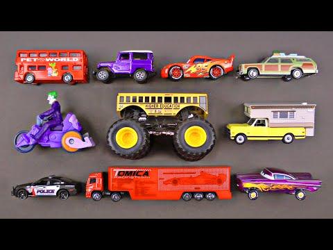Cars Trucks Street Vehicles for Kids - Fan Favorite Video for Children & Toddlers - Organic Learning