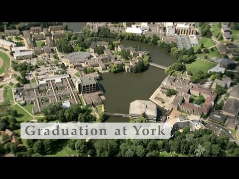 Graduating from the University of York