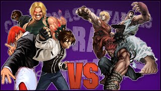 Street Fighter vs The King of Fighters. Chingonas Batallas de Rap de Titanes | Zoiket Ft. Otros