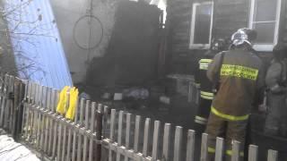 Пожар в Троицке 27 марта 2015 г.