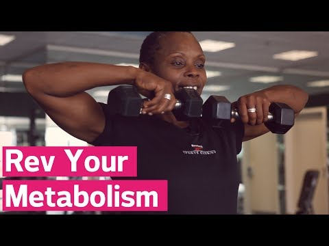 The Exercise That Revs Your Metabolism
