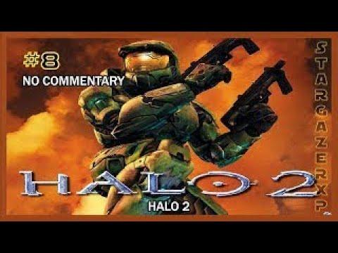 Halo 2 Walkthrough Mission #8 (Delta Halo) HD 1080p XB No Commentary