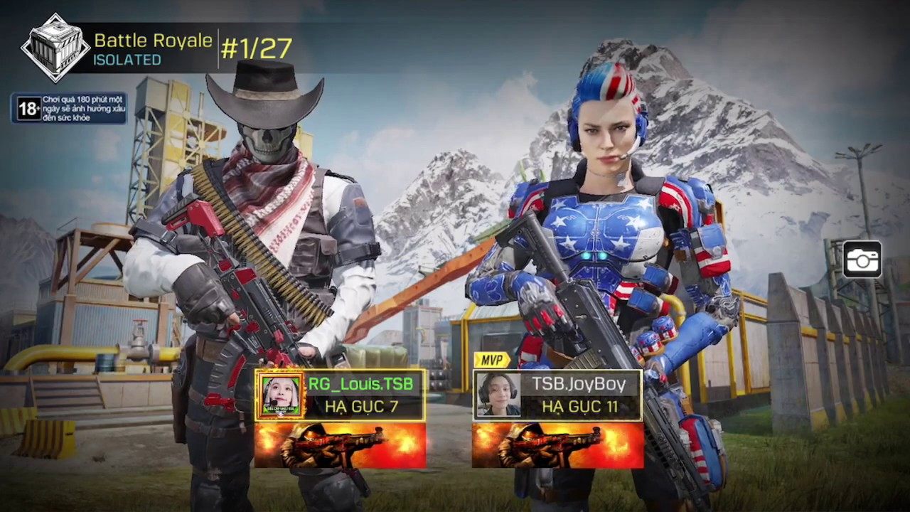 Cùng Louis trải nghiệm nhân vật Ghost Cowboy - Call of Duty Mobile VN