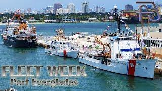 US Coast Guard Cutter Confidence - FLEET WEEK - Port Everglades - Fort Lauderdale, Florida