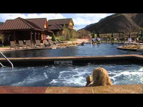 Iron Mountain Hot Springs in Glenwood Springs, Colorado