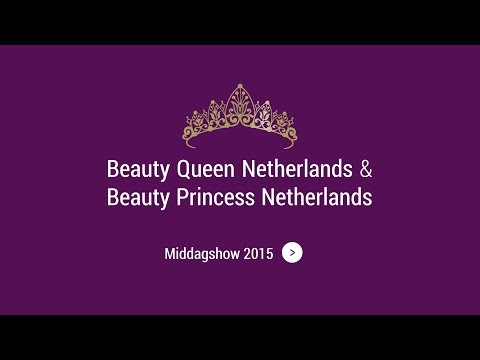 Mini, Midi & Teen Beauty Princess Netherlands 2015 (Middag)